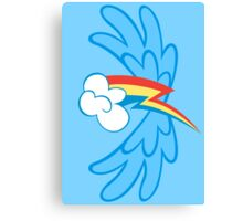 Rainbow Dash Cutie Wings Canvas Print