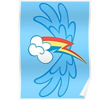 Rainbow Dash Cutie Wings Poster
