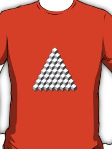 Qbert - Blank Map T-Shirt