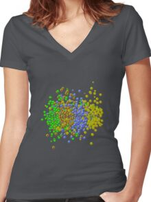 Civilization Addict - Just One More Turn Women's Fitted V-Neck T-Shirt
