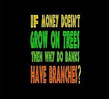㋡♥ټRandom Funny Bank Joke iPhone & iPad Casesټ♥㋡ by Fantabulous