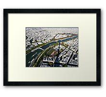 Paris in the air Framed Print