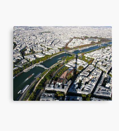 Paris in the air Canvas Print