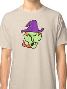 Angry Halloween Witch Classic T-Shirt