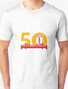 Pro Football Championship 50 Bridge T-Shirt
