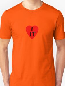 I Love IT - Country Code Italy ~ T-Shirt & Sticker T-Shirt