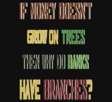 ㋡♥ټRandom Funny Bank Joke Clothing & Stickersټ♥㋡ by Fantabulous