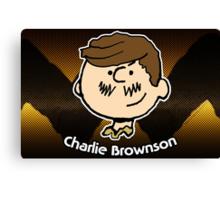 Charlie Brownson (Print Version) Canvas Print