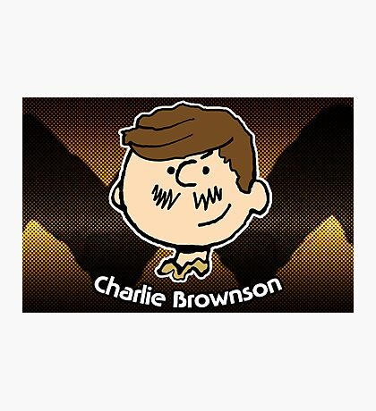 Charlie Brownson (Print Version) Photographic Print