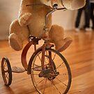 0058 Bear on a Bike by DavidsArt