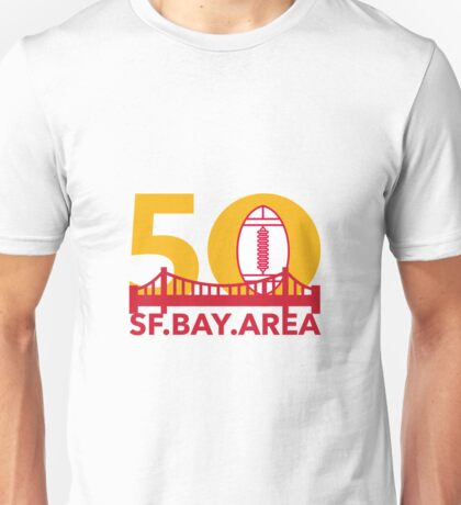 Pro Football Championship 50 SF Bay Area Unisex T-Shirt