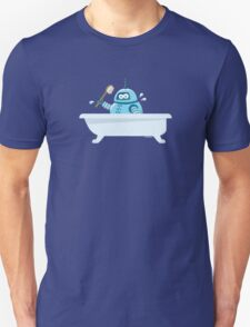 Robot in the bath Unisex T-Shirt