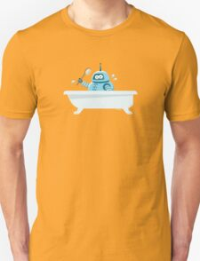 Robot in the bath T-Shirt