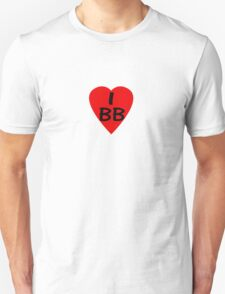 I Love BB - Country Code Barbados T-Shirt & Sticker Unisex T-Shirt