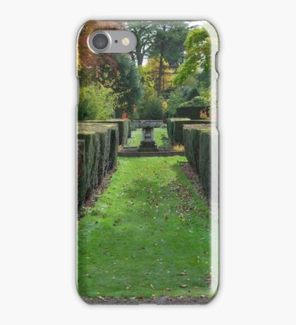 Spetchley Gardens, Worcestershire iPhone Case/Skin
