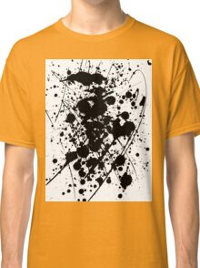 abstract with ink Classic T-Shirt