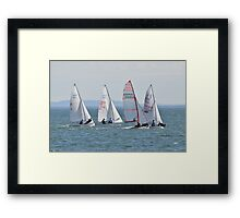 Hanging Tough Framed Print