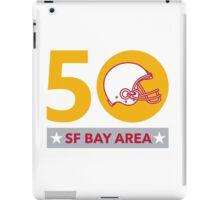 50 Pro Football Championship SF Bay Area iPad Case/Skin