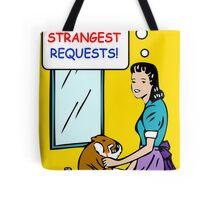 Retro 50's Style - Beaver Shaving Tote Bag