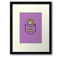 Legend Of Zelda - Pocket Zelda Framed Print