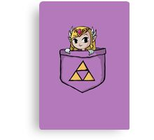 Legend Of Zelda - Pocket Zelda Canvas Print