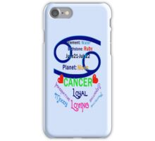۞»★ Star Sign-Cancer iPhone & iPod Case★«۞  iPhone Case/Skin