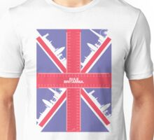 Rule Britannia. (spiffing traditional colour) Unisex T-Shirt