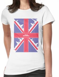 Rule Britannia. (spiffing traditional colour) Womens Fitted T-Shirt