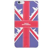 Rule Britannia. (spiffing traditional colour) iPhone Case/Skin