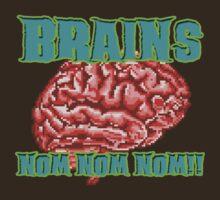 Zombies - 8-Bit Noms by metacortex