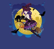 Witch and Full Moon 4 Unisex T-Shirt