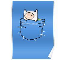 Adventure Time - Pocket Finn Poster