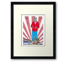Robot sale Framed Print