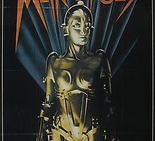 Metropolis - Classic Sci Fi Movie by metacortex