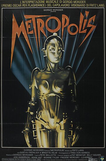 Metropolis - Classic Sci Fi Movie by metacortex