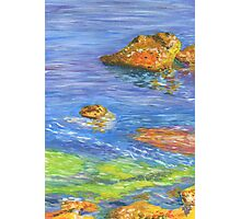 sea of gouache Photographic Print