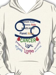 ۞»★ Star Sign-Cancer Clothing & Stickers★«۞  T-Shirt