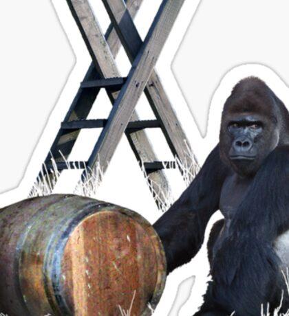 Tribute to Donkey Kong Sticker