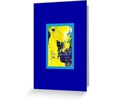JWFrench Collection Marbled Card 89 Greeting Card