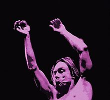 Iggy Pop Art by Pastilutza