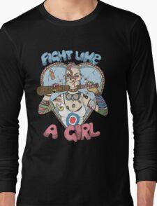 Fight Like A Girl - Fight Like A Tank Girl (Tank Girl) Long Sleeve T-Shirt