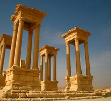 Tetrapylon - Palmyra by Citisurfer