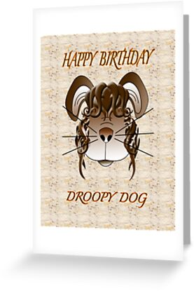 Floppy dog digital illustration  by Michelle Oakes
