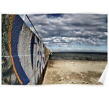 Street meets Beach Poster