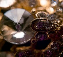 Diamonds and Gold SuperMacro 7 by AnnArtshock