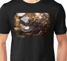Diamonds and Gold SuperMacro 7 Unisex T-Shirt