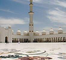 Minaret at Abu Dhabi Grand Mosque by Citisurfer