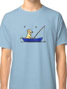 Lab Gone Fishing Classic T-Shirt