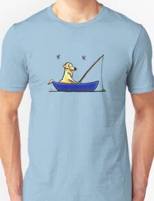 Lab Gone Fishing T-Shirt