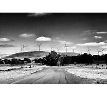 Windfarm  Photographic Print